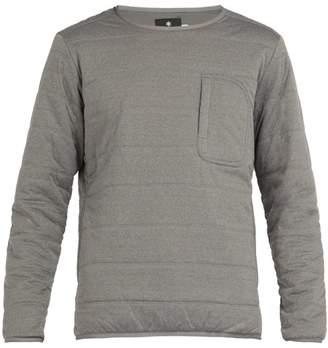 Snow Peak - Flex Quilted Jersey Sweatshirt - Mens - Grey
