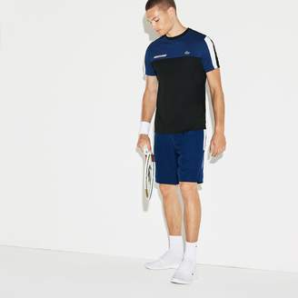 Lacoste Men's SPORT Colored Bands Taffeta Tennis Shorts