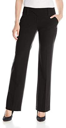 My Michelle Junior's Career Pant with Wide Waist Band and Double Belt Loops