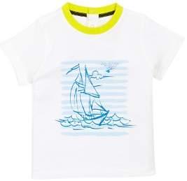 Armani Junior Boys' Sailboat Graphic Tee - Baby