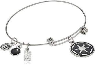 Star Wars Jewelry Galactic Empire Symbol Expandable Charm Bracelet