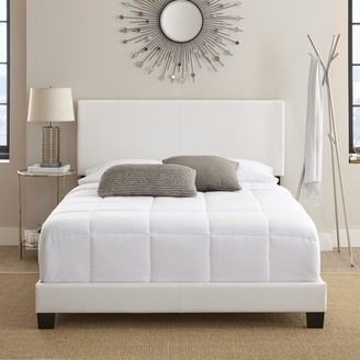 Premier Sutton Upholstered Faux Leather Platform Bed Frame, Multiple Sizes