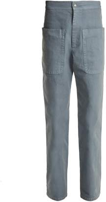 Etoile Isabel Marant Lana patch-pocket cotton-canvas trousers