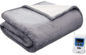 Woolrich Heated Plush to Berber Reversible Oversized Throw 60'' x 70''