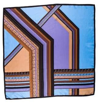 Adrienne Landau Silk Print Scarf