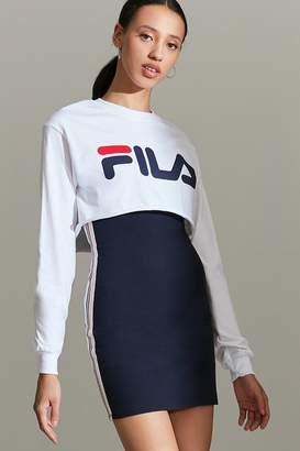 Fila + UO Cropped Long Sleeve Tee