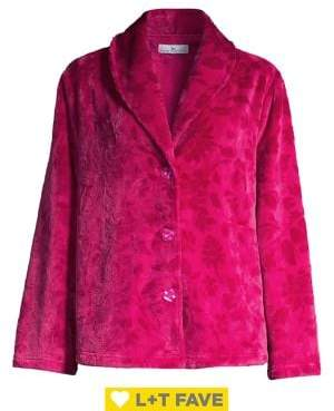 Karen Neuburger Embossed Velvet Jacket