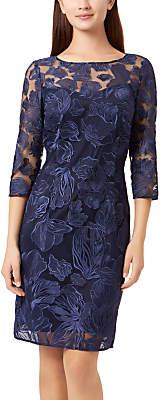 Fenn Wright Manson Yasmin Lace Dress, Navy