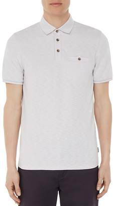 Ted Baker Alsort Soft Touch Regular Fit Oxford Polo