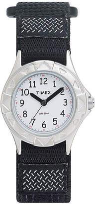 Timex My First Outdoors Kids Black Nylon Fast Strap Watch T790519J