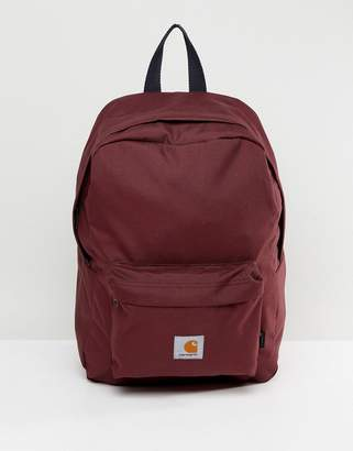 Carhartt WIP Watch Backpack in Berry