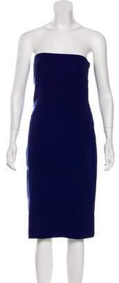 Diane von Furstenberg Strapless Knee-Length Dress