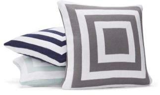 "Hudson Park Collection Geo Knit Decorative Pillow, 20"" x 20"" - 100% Exclusive"