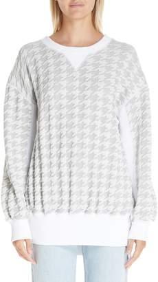 Junya Watanabe Houndstooth Sweatshirt
