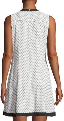 Cynthia Steffe Cece By Colorblock Stencil Dress