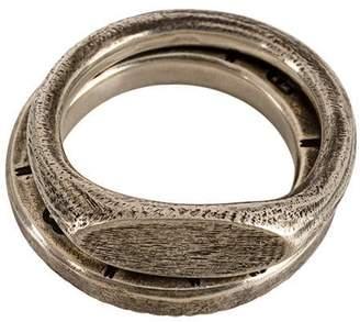 Werkstatt:Munchen embossed ring set