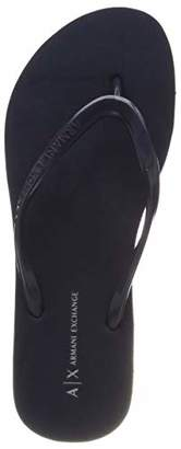 Armani Exchange A|X Women's Rubber Flip-Flop