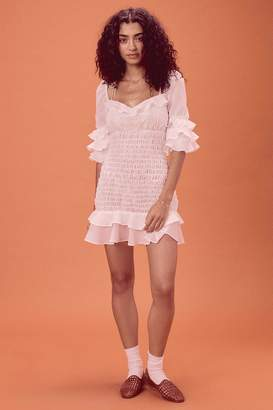 For Love & Lemons Women's Bora Ruffle Mini Dress