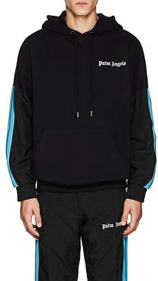 Palm Angels Men's Striped Cotton Hoodie