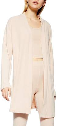 Topshop Brushed Rib Robe