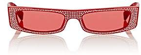 "Alain Mikli Women's ""EdwidgeJeweled"" Sunglasses-Red"