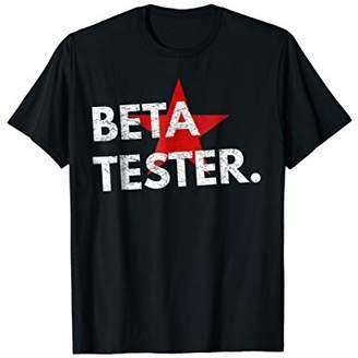 Beta-Tester T Shirt - For Testing Team