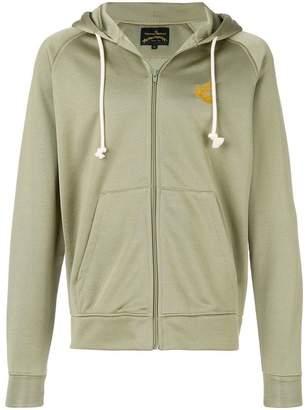 Vivienne Westwood front zip hoodie