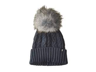 The North Face Oh-Mega Fur Pom Beanie