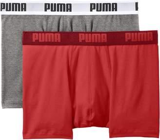 Puma 2-Pack Men's Basic Boxer Briefs