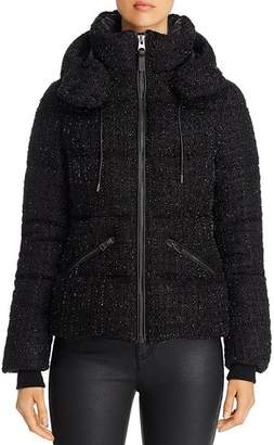 Mackage Madalyn Tweed Short Down Coat - 100% Exclusive