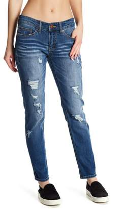 Marni SUPPLIES BY UNION BAY Distressed Skinny Ankle Jeans