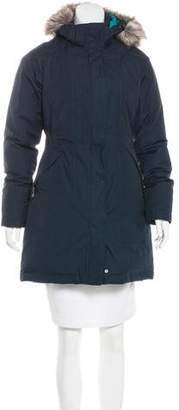 The North Face Faux Fur Down Coat