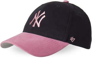 '47 Girls 4-6x) Navy & Pink NY Yankees Baseball Cap