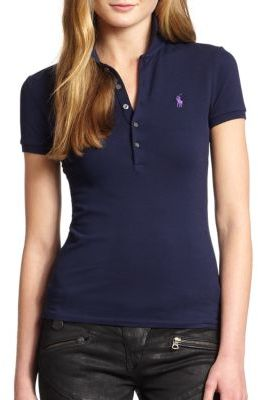 Polo Ralph Lauren Skinny Stretch Polo Shirt $89.50 thestylecure.com