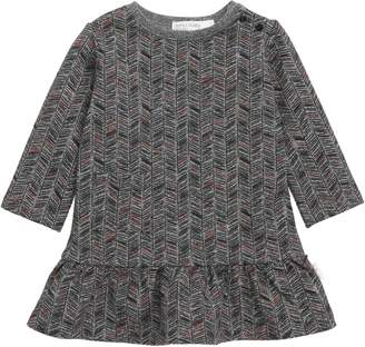 miles baby Knit Ruffled Dress