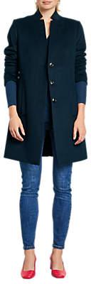 Hush Revere Coat, Midnight Blue