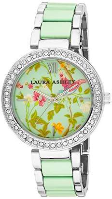 Laura Ashley Women's LA31007BL Two-Tone Summer Duck Bracelet Watch $59.99 thestylecure.com
