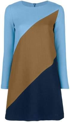 P.A.R.O.S.H. panelled mini dress