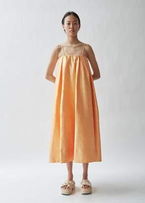 59b83ce93c92 Simone Rocha Sleeveless Crinkled Taffeta Dress