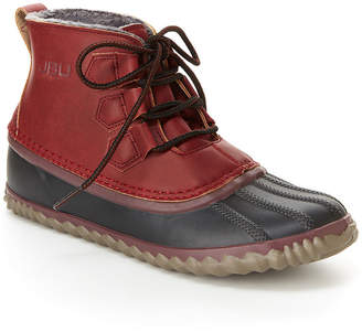 Jambu J Sport By Womens Nala Rain Boots Water Resistant Flat Heel Lace-up