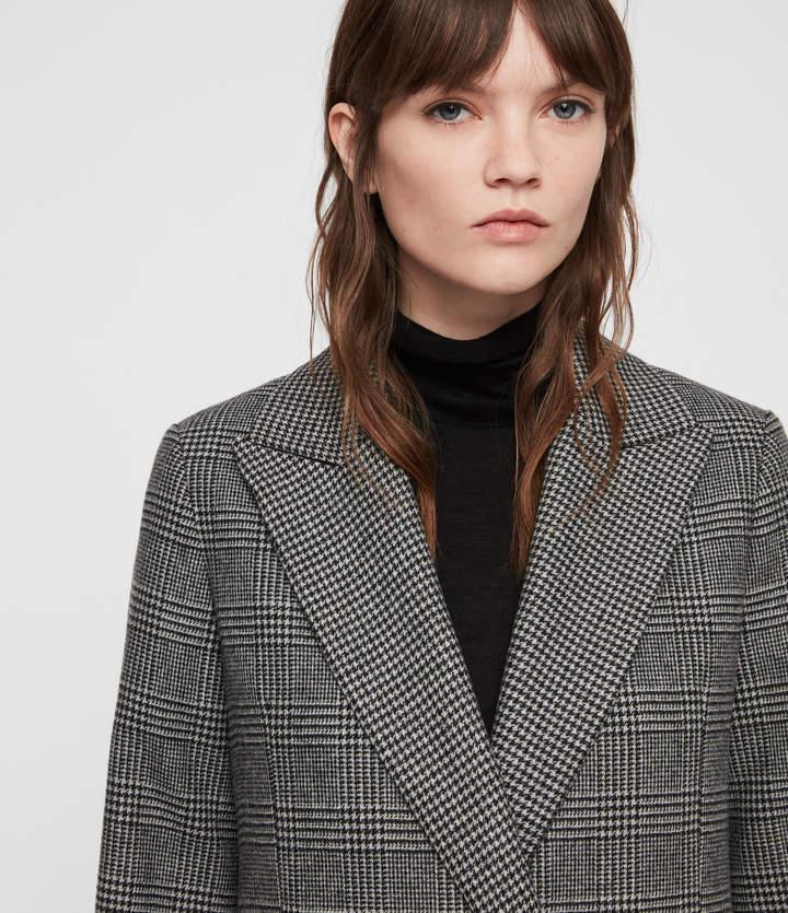 Paityn Check Coat