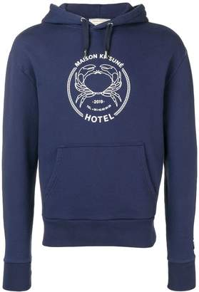MAISON KITSUNÉ printed logo hoodie