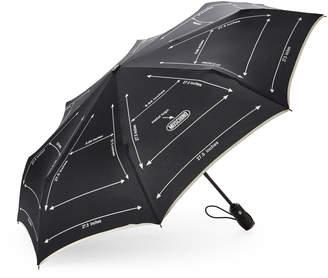 Moschino Measurement Mini Auto Open & Close Umbrella