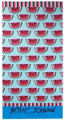 Betsey Johnson Watermelon Picnic Cotton Beach Towel