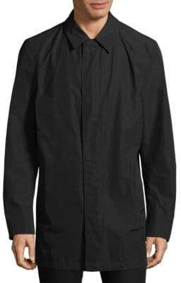 HUGO BOSS Point Collar Longline Jacket