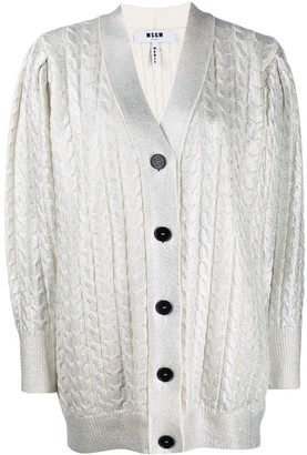 MSGM button up cardigan