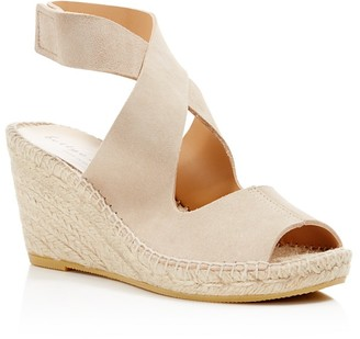 Bettye Muller Mobile Crisscross Espadrille Wedge Sandals $198 thestylecure.com