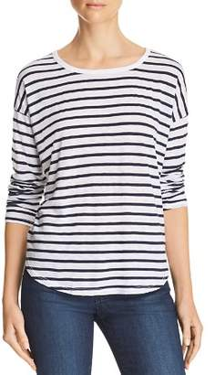 Splendid Zander Striped Long-Sleeve Tee