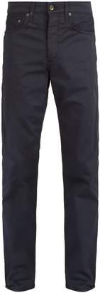 Rag & Bone Mid-rise slim-leg chino trousers