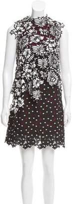 Self-Portrait Lace Sleeveless Dress